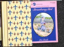 2 Lois Lenski Books Bound Girl of Cobble Hill 8th Impression & Strawberry Girl