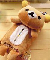 Car Plush Tissue Box Rilakkuma San-X Cute Plush Cover   Home Car Accessories