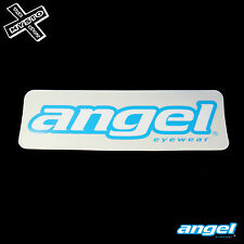 Grande Angelo Adesivo Eyewear Occhiali da sole auto Big Blue SKATE SNOW SURF BOARD NUOVO