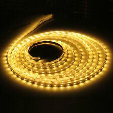 16.4ft 5m 2835 Warm White 300 LED SMD LED Strip Light Lamp Flexible DC 12V