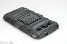 Durable Black Rugged Heavy Duty Dual Layers Case for Samsung Galaxy S3 i9300 New