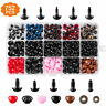 752pcs Safety Eyes and Noses Washers for Animal Doll Colorful Plastic Parts Set
