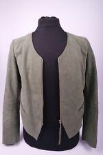 HUGO BOSS ORANGE Lederjacke Jadine Buffalo Leather Jacket Damen Gr. 44