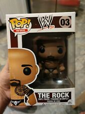 The Rock funko pop original Wwe series Rare