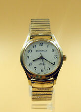 Vintage Caravelle Mechanical Wind-Up Mens Wrist Watch T-France MVT-T