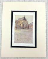 Il Palazzo Di Versailles Francia Royal Cappella Antico Stampa Circa 1906