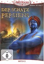 Der Schatz Persia, aufregenes PC game, Computer game CD-ROM Red Rocks NIP