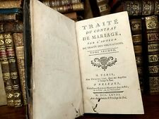 1768 TREATY ON THE MARRIAGE CONTRACT