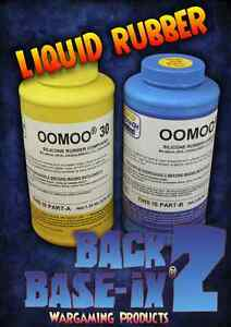 Oomoo 30 Liquid Silicone Rubber Compound Smooth On Trial Kit 1.3kg/2.8lbs