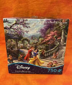 Thomas Kinkade Disney Snow White Dancing in the Sunlight 750 Pc Ceaco Puzzle