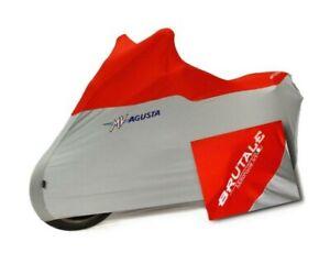 Genuine MV Agusta B4 Brutale Indoor Bike Cover Grey / Red with Logo SPBCX003B4