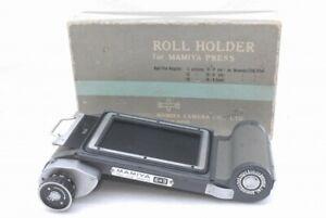 Mamiya 6x4.5 6x6 6x9 Roll Film Back Holder Super 23 Universal Press *MJ246