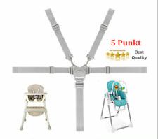 Universal Baby 5 Punkt Sicherheitsgurt Gürtel für Kinderwagen Hochstuhl Buggy DE
