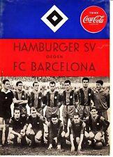 FR-Spiel 03.09.60 Hamburger SV - FC Barcelona HSV DFB Deutschland Spanien
