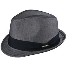 STETSON * GREY FEDORA HAT * XXL ** NEW MEN TRILBY BLUES BROTHERS SHADY SUN DRESS
