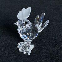 RARE Retired Swarovski Crystal Cockerel Rooster 014497 Mint Boxed 7674 Chicken