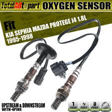 2Pcs Oxygen Sensors for Kia Sephia Mazda Protege 1995-1998 Upstream & Downstream
