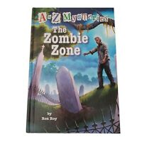 A to Z Mysteries The Zombie Zone Ron Roy Signed 1st Edition 1st Print Hardcover
