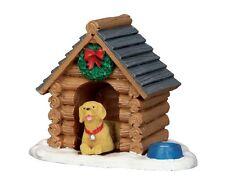 LEMAX LOG CABIN DOG HOUSE Weihnachtsdorf Winterdorf Modellbau