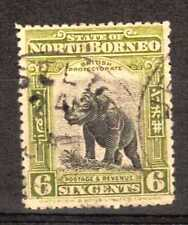 Used Single North Bornean Stamps
