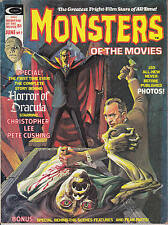 Monsters Of The Movies 1975 No 7 Dracula Christopher Lee Pete Cushing Horror