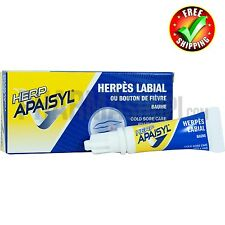 Apaisyl Herp Cream 2gr  Natural Treatment for the Rapid Treatment of Oral Herpes