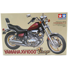 Tamiya Yamaha XV1000 Virago Motocicleta Modelo Set (escala 1:12) 14044 Nuevo