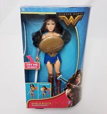 DC Wonder Woman Shield Block Action Figure Movie Toy Poseable Mattel 2016 NEW