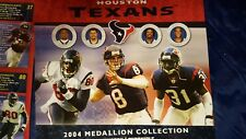 medallion collection booklet Houston Texans 2004