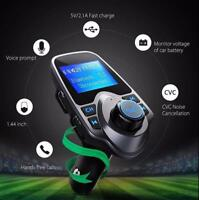Bluetooth Car Kit MP3 Player FM Transmitter Wireless Adapter USB Charger