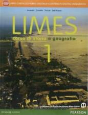 Limes vol.1, B.Mondadori Scuola Pearson, Zanette/Dell'Acqua cod:9788842433910