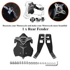Aluminum Alloy Plastic Mudguard Motorcycle Rear Fender Mud Dust Wheel Splash Kit