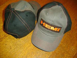 HEMI Gray / Orange/Black CFS 2019 Adjustable Cap Hat New W/TAG In Stock