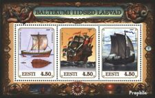 Estonia block10 (complete issue) unmounted mint / never hinged 1997 Vessels