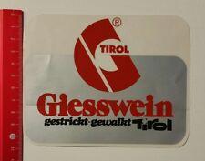 Aufkleber/Sticker: Giesswein gestrickt-gewalkt Tirol (040417108)