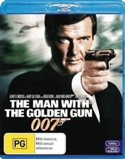 Man With The Golden Gun 2012 Roger Moore Blu-ray