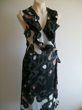 LOVELY WRAP DRESS  BY JANE LAMERTON,   SIZE 16, EX CONDITION,