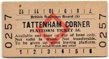 BRB(S) Platform Ticket Tattenham Corner 3d