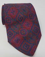 Cravatta Valentino 100% pura seta tie silk vintage made in italy handmade