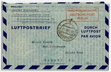 Gestempelte Flugpost für Sammler