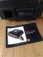 Kodak Moviedeck 455 Projector Super 8 & 8mm Built in Mini Screen Manual