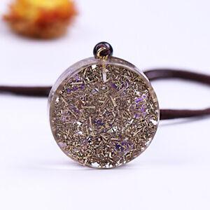Metatron Cube Magic Hexagram Resin Chakra Healing Or Balancing Pendant Necklace