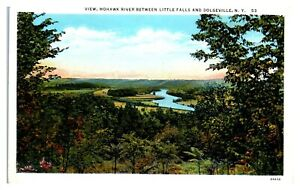 Mohawk River View between Little Falls and Dolgeville, NY Postcard *5N(2)31