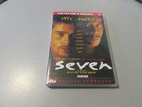 Seven (David Fincher) - EDICIÓN COLECCIONISTA Edición 2 DVD - Pitt, Freeman