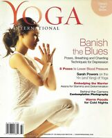 Yoga International Magazine Poses Breathing And Chanting Techniques Depression