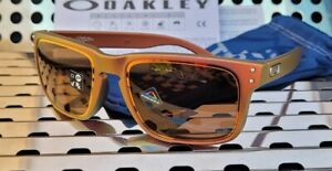 New Oakley HOLBROOK Troy Lee Designs 9102-T555 Sunglasses Red-Gold w/ Prizm Ruby