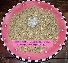 Guinea Turkey Quail Chicken Hatching Eggs 28+% Protein Game Bird Poultry Starter