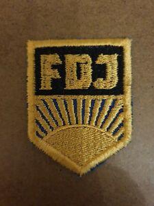 FDJ Aufnäher FDJ Bluse Ostalgie DDR SED FDJ Hemd Museum Fasching Junger Pionier