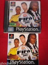 FIFA FOOTBALL 2003 PLAYSTATION 1 FIFA SOCCER 2003 PS1 PSONE PS2 PS3