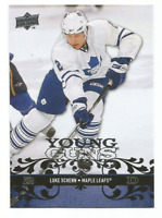 2008-09 Upper Deck Young Guns #248 Luke Schenn RC Rookie Toronto Maple Leafs
